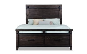 Montana Full Brown Storage Bed