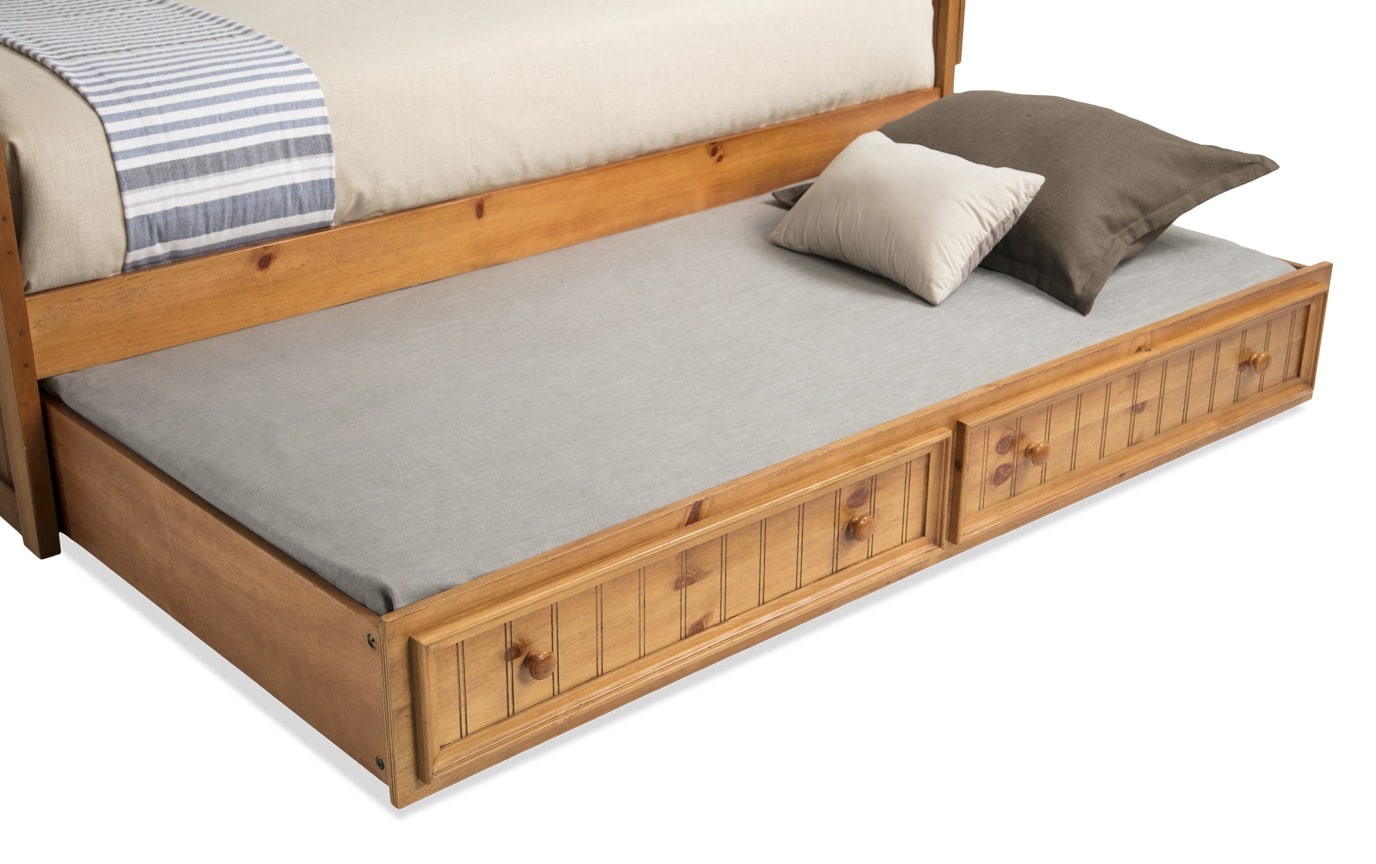 Denver Youth Twin Panel Bed with Trundle