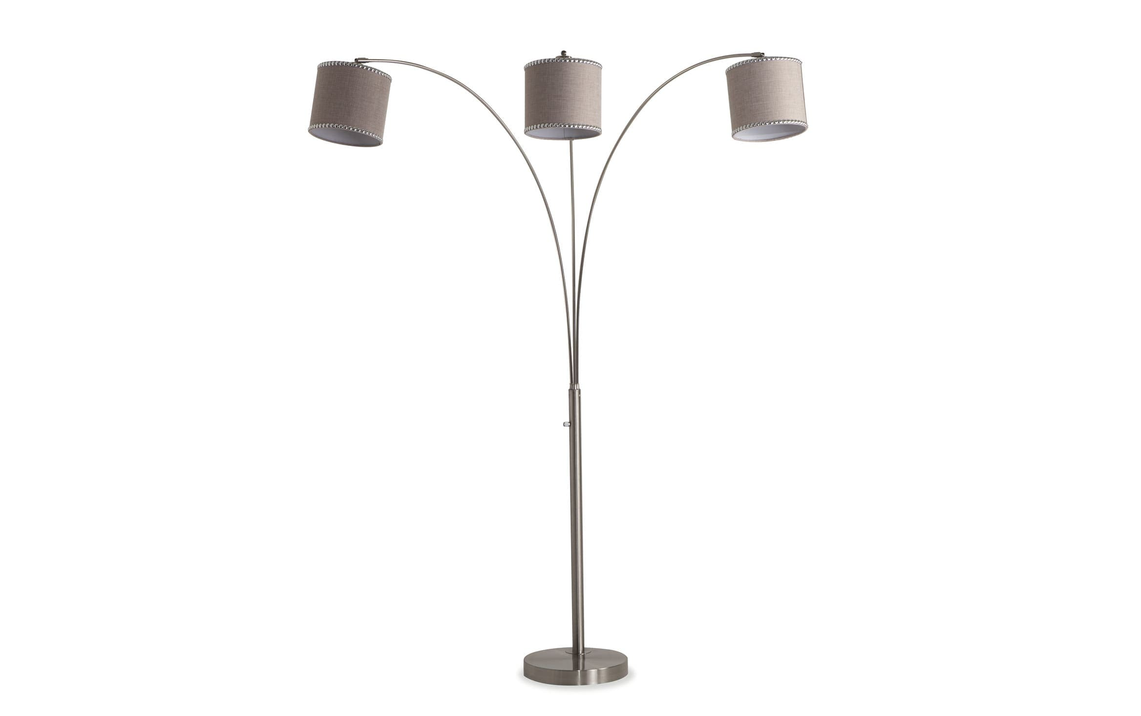 Chelsea Triple Arc Lamp Bobs Com