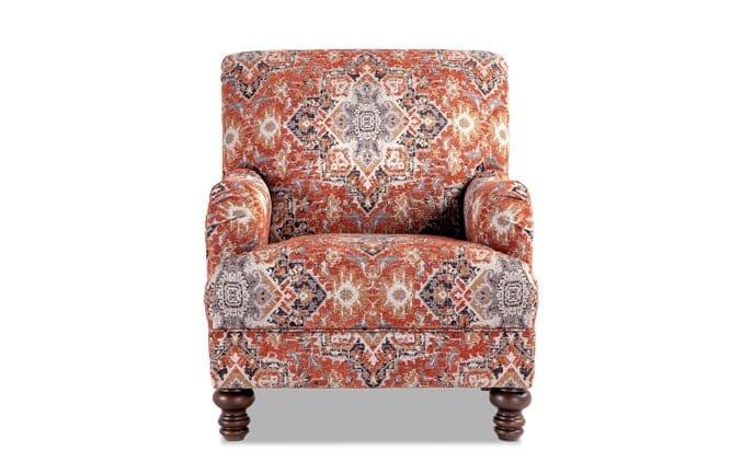 Cora Medallion Accent Chair