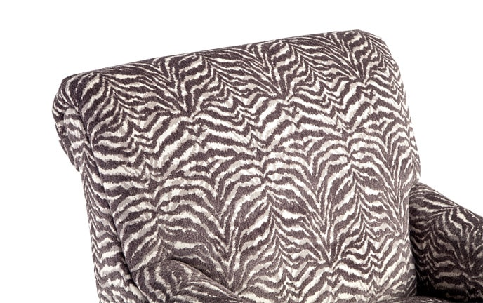 Cora Zebra Accent Chair