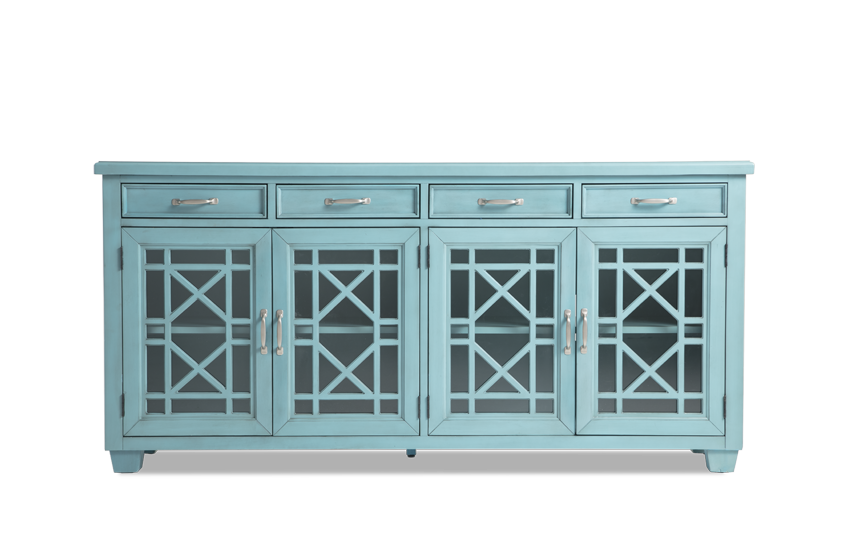 Lacy Blue Cabinet