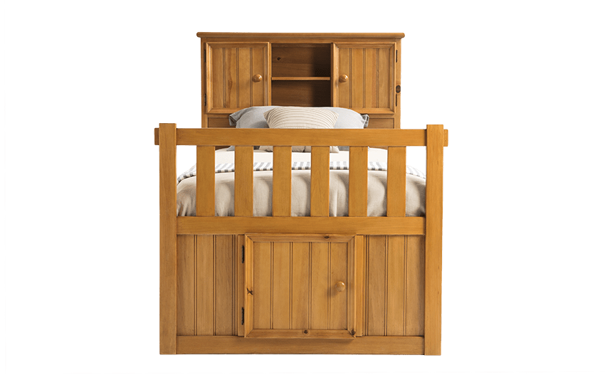 Denver Youth Twin Bookcase Bed With Door