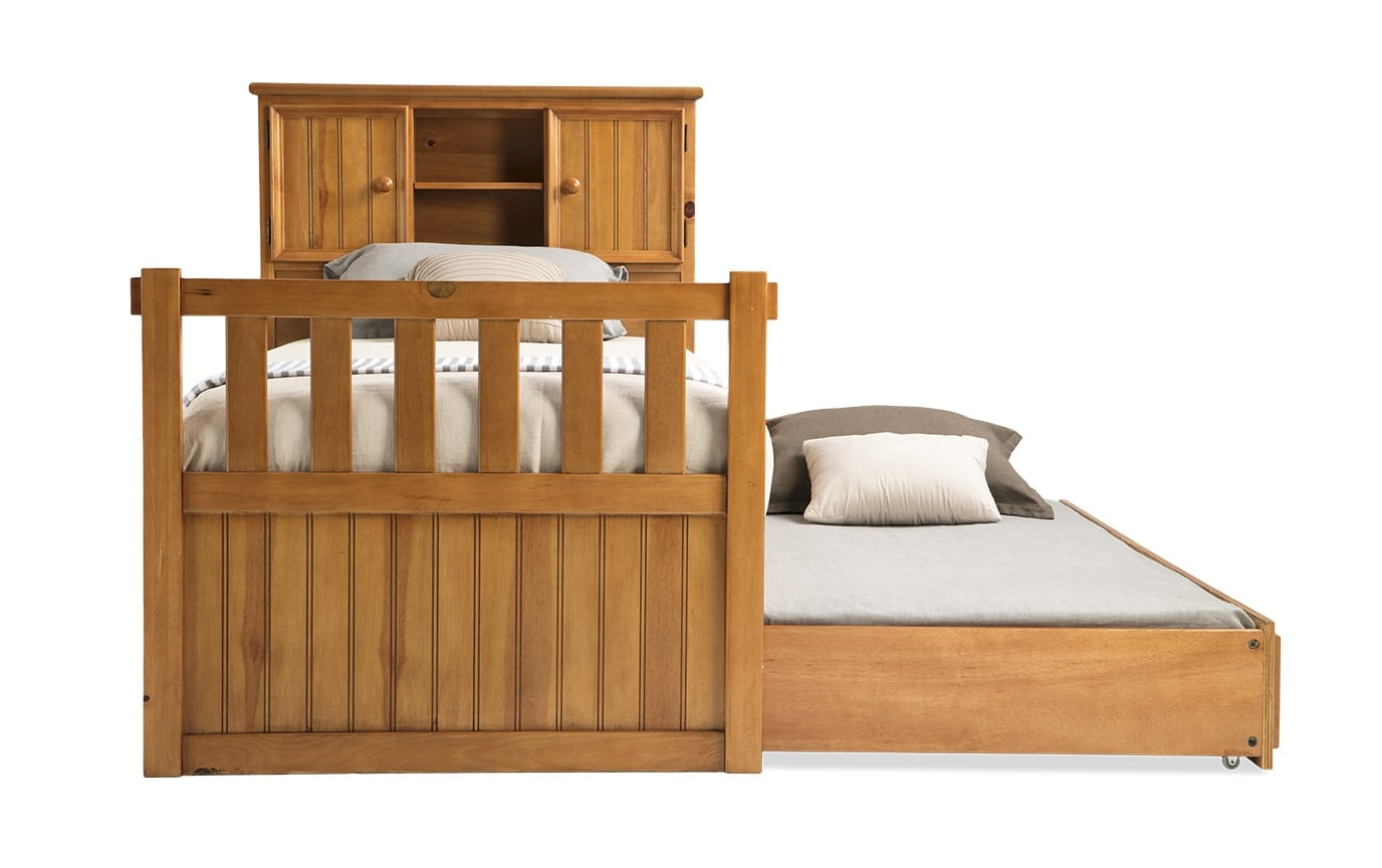 Denver Youth Twin Bookcase Bed With Trundle