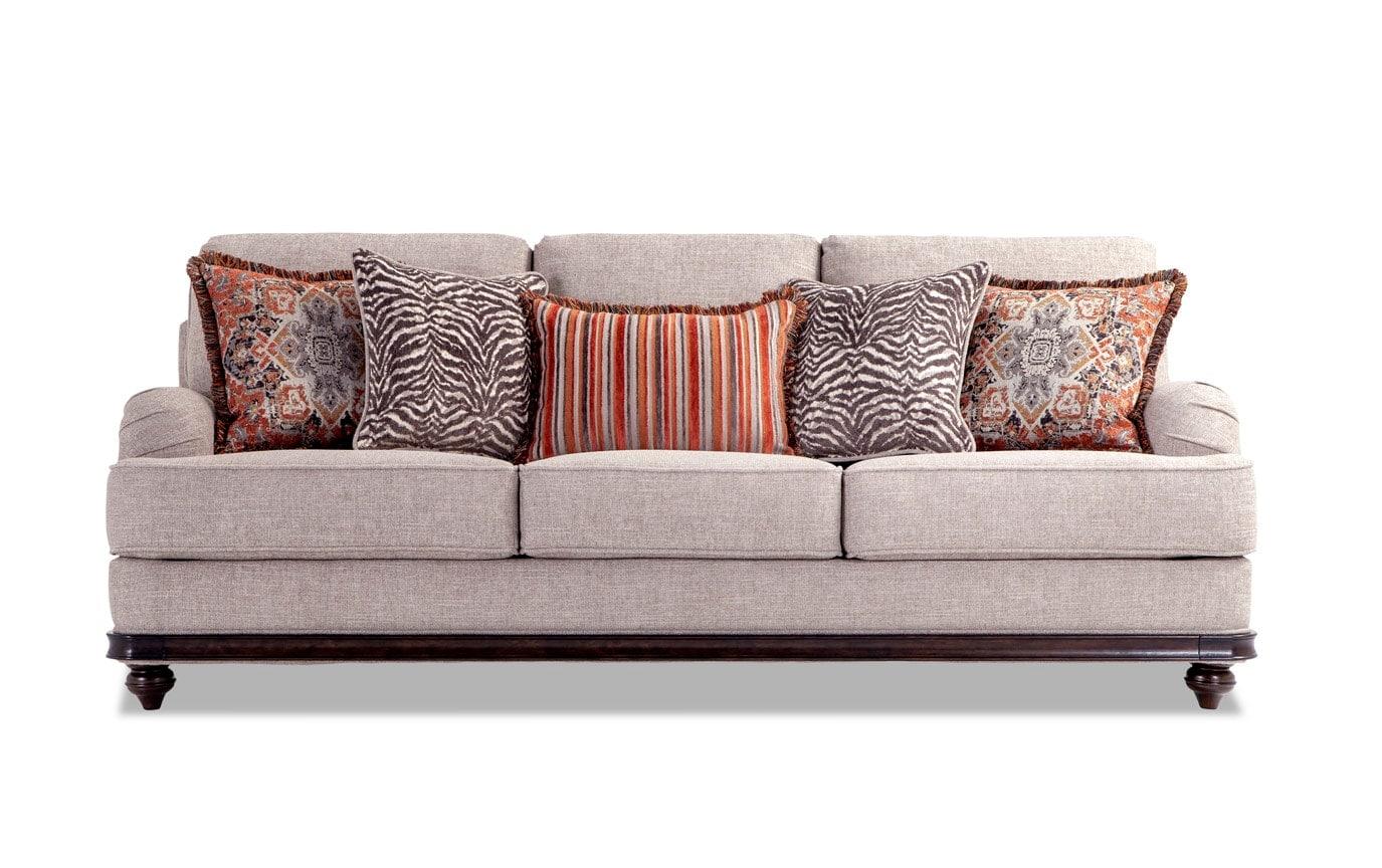 Cora Sofa, Chair & Storage Ottoman