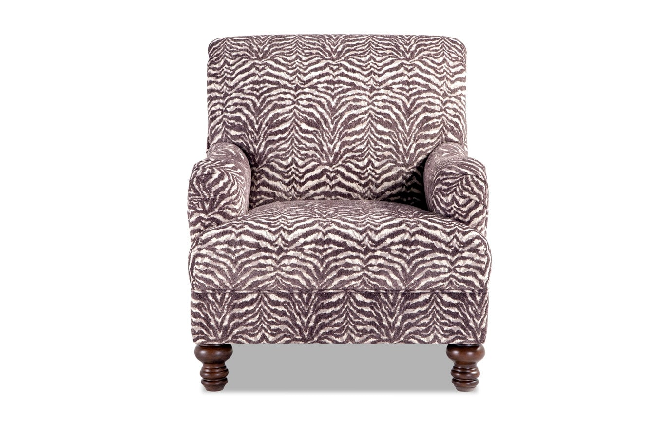 Cora Sofa & Zebra Accent Chair
