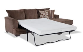 Miranda Bob-O-Pedic Gel Queen Sleeper Chaise Sofa