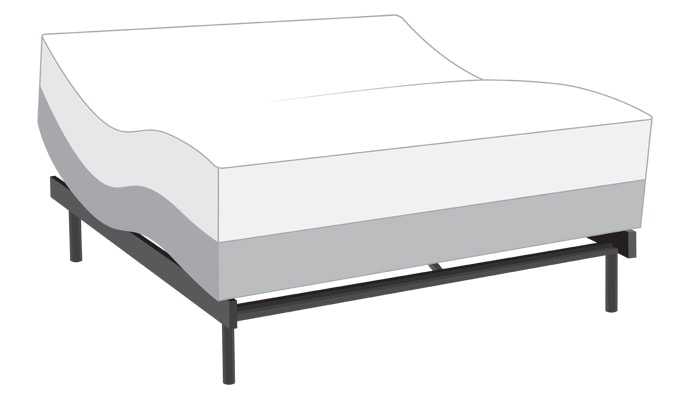 Power Bob Adjustable Bed with Bob-O-Pedic Sport Hybrid