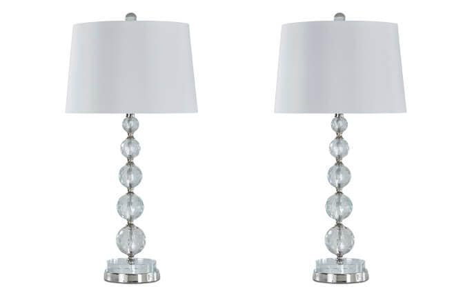 Set of 2 Posh Lamps