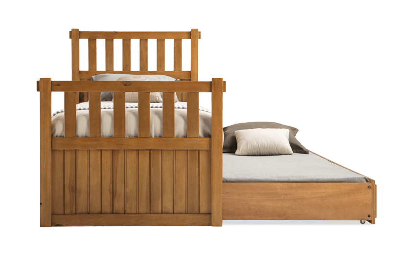 Denver Youth Full Panel Bed With Trundle