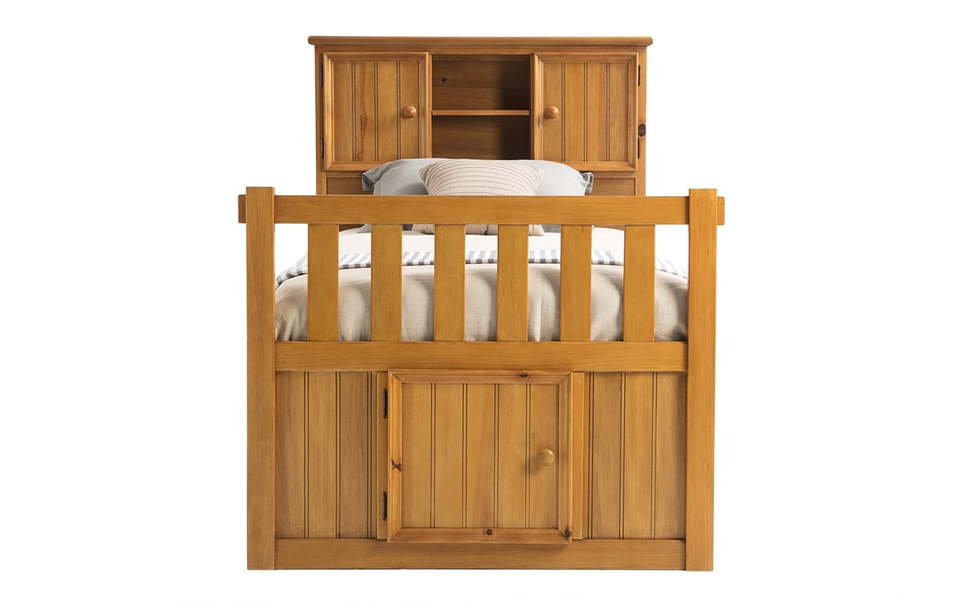 Denver Youth Full Bookcase Bed with Door