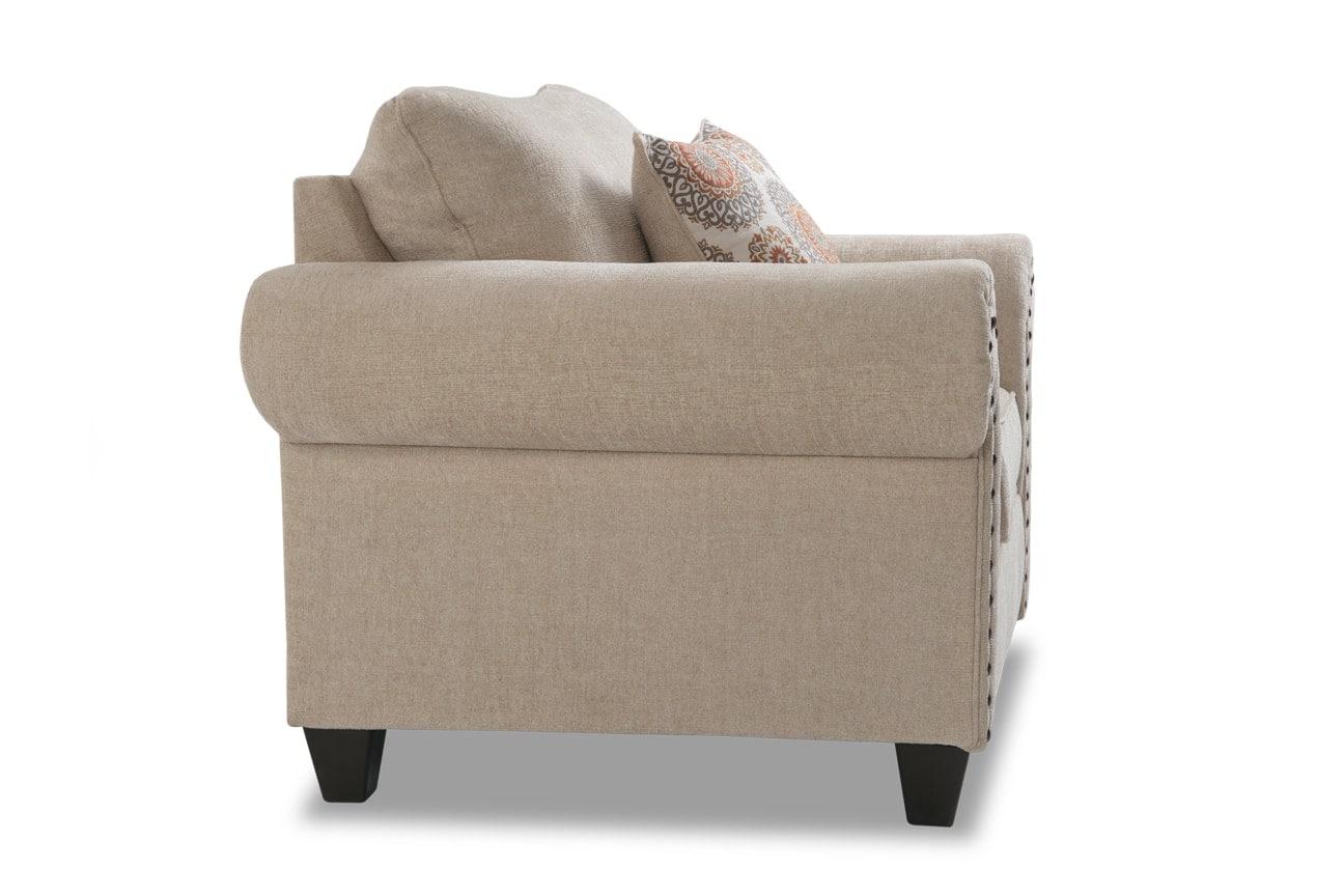 Artisan Oversized Chair & Storage Ottoman