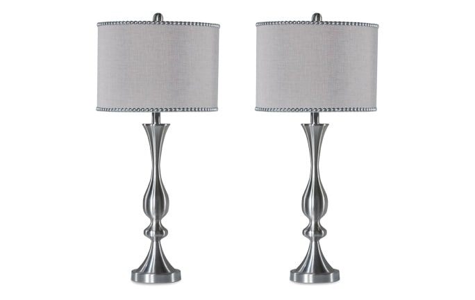 Set of 2 Chelsea Nailhead Lamps