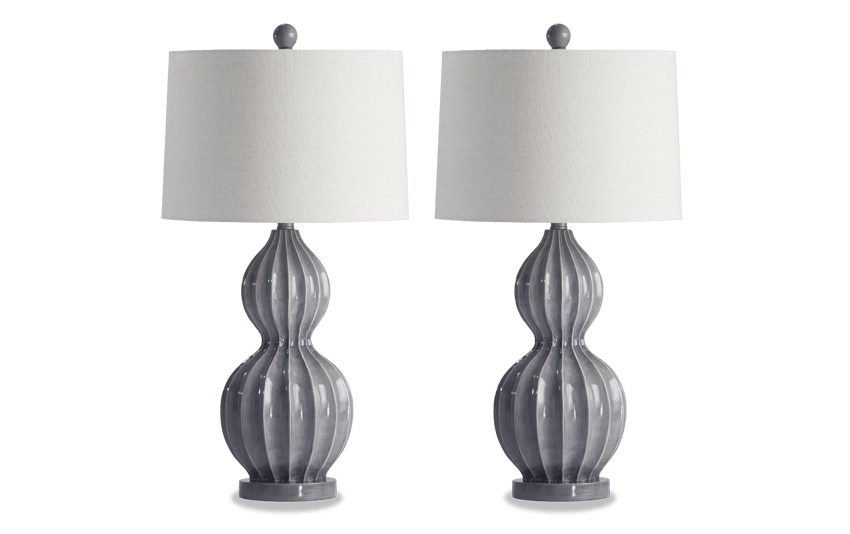 Set of 2 Heather Table Lamps