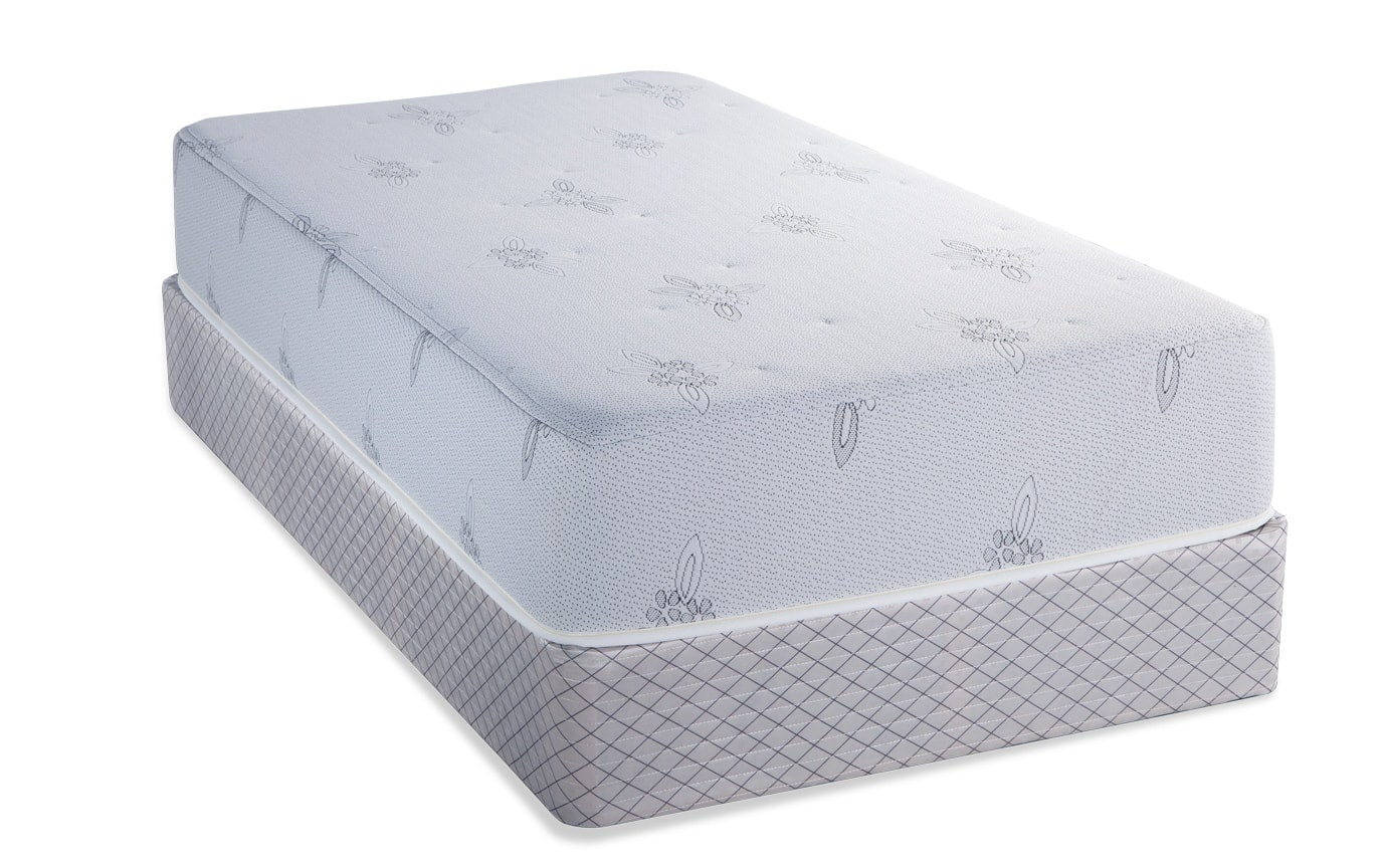 Mismatched Foam Bedding Twin Size Mattress Set