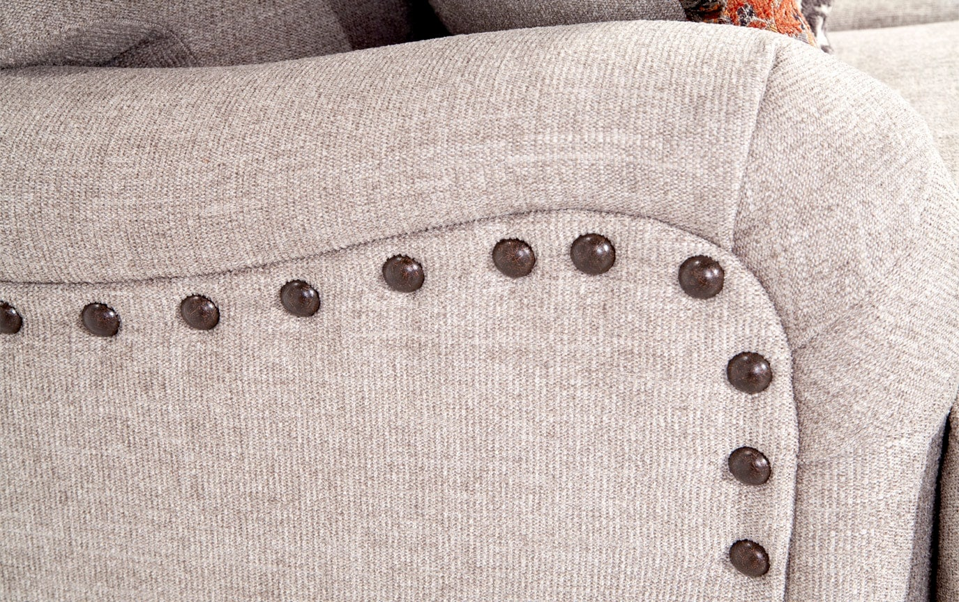Cora Sofa, Medallion & Zebra Accent Chairs