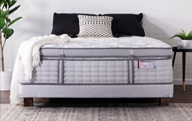Solstice Queen Low Profile Mattress Set