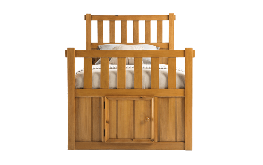Denver Youth Twin Panel Bed With Door