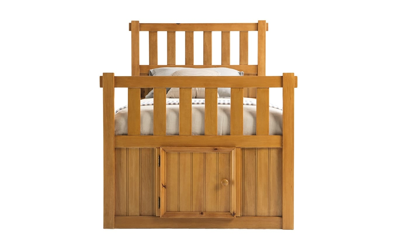 Denver Youth Full Panel Bed with Door
