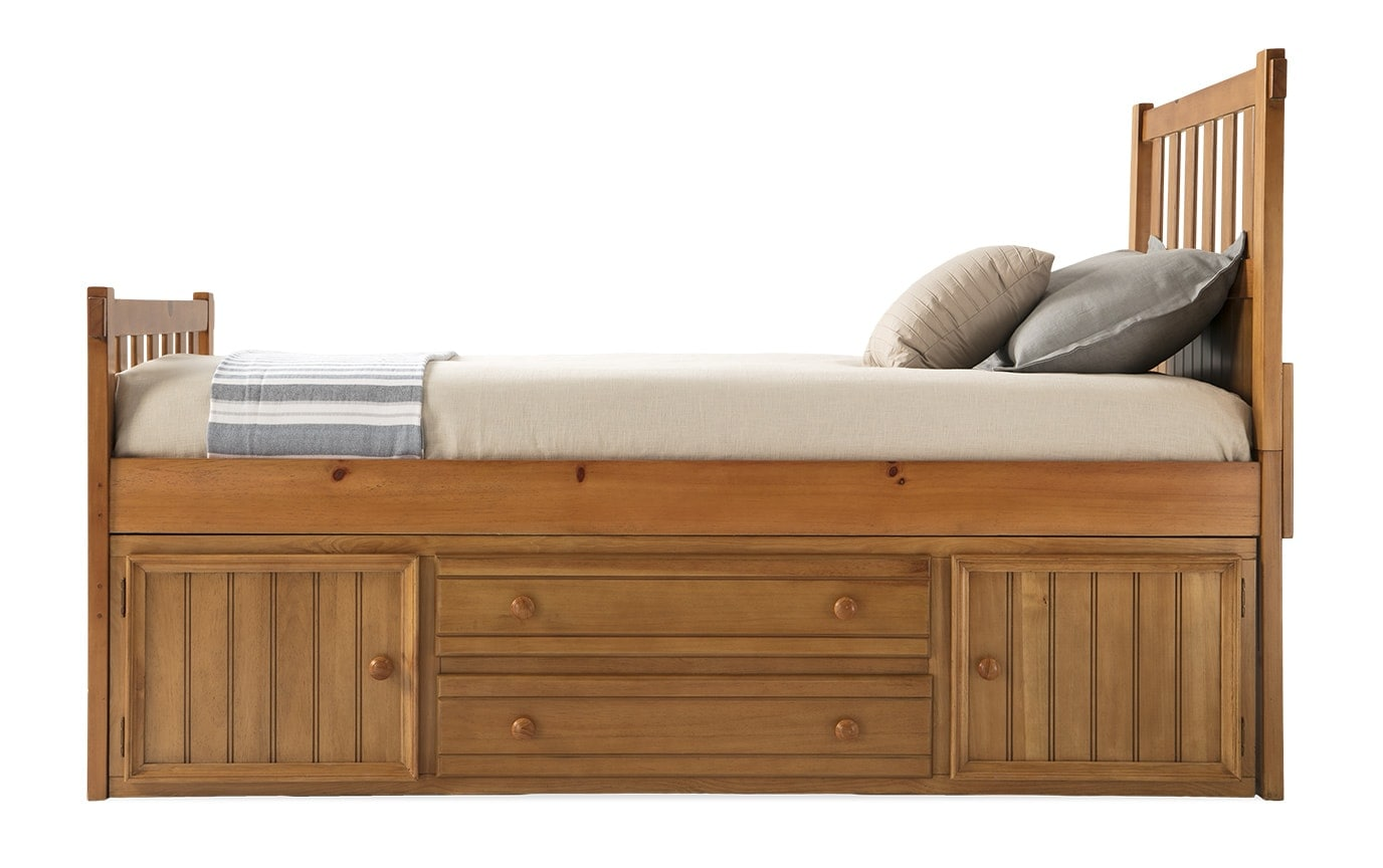 Denver Youth Full Panel Bed With Storage