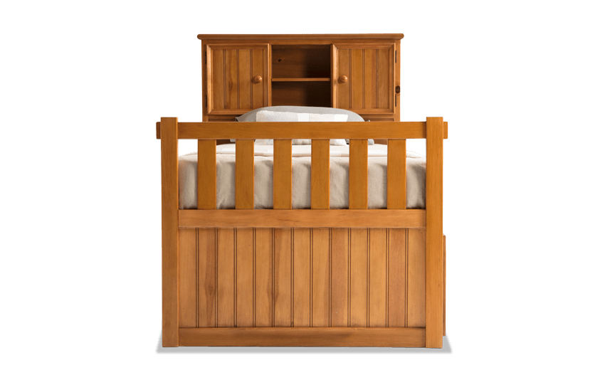 Denver Youth Twin Bookcase Bed With Storage