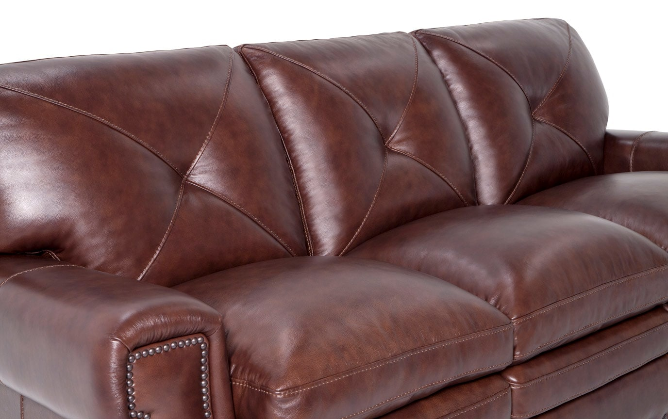 Kennedy Leather Sofa, Chair & Ottoman