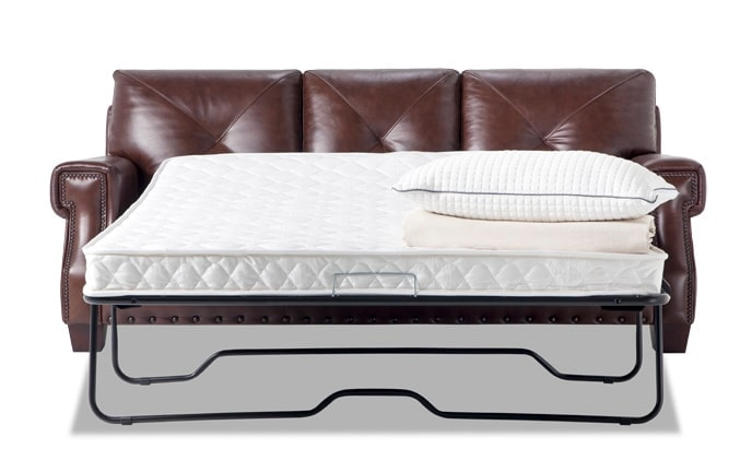 Kennedy Leather Innerspring Queen Sleeper