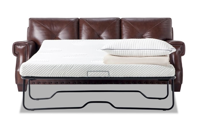 Kennedy Leather Bob-O-Pedic Gel Queen Sleeper Sofa