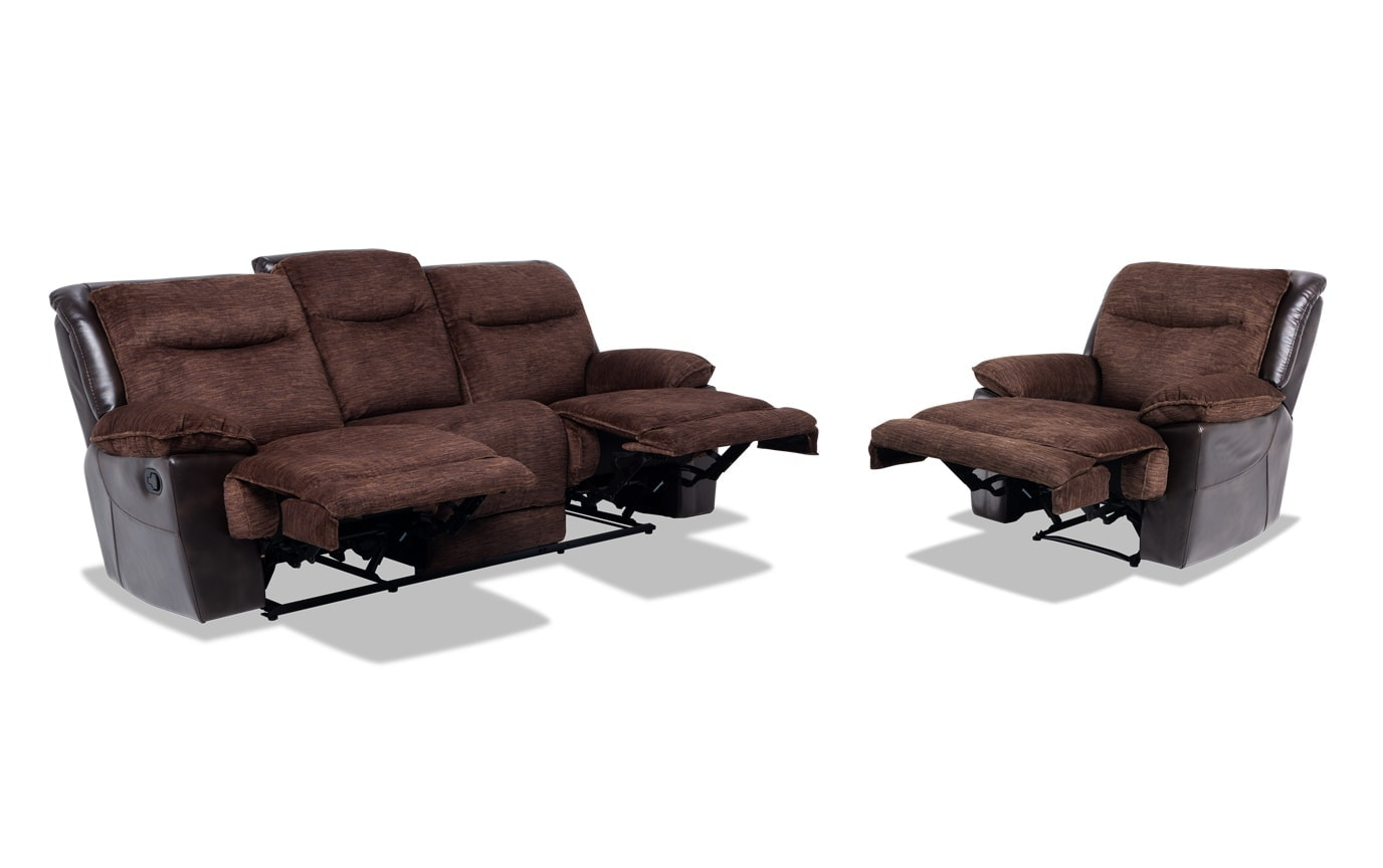 Banner Manual Sofa & Recliner