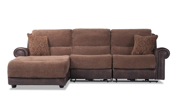 Dallas 3 Piece Right Arm Facing Sectional