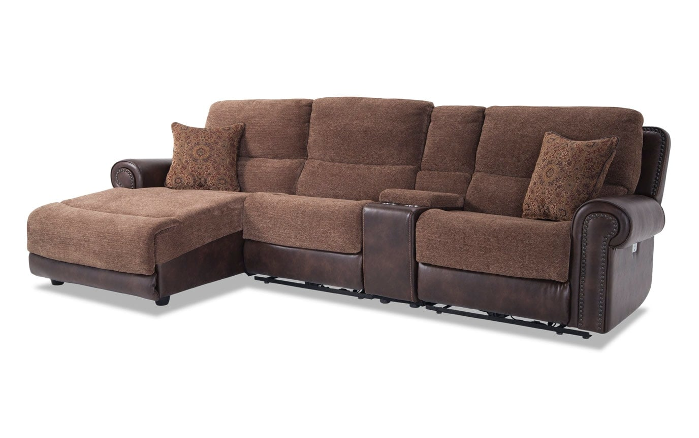 Dallas 4 Piece Right Arm Facing Sectional