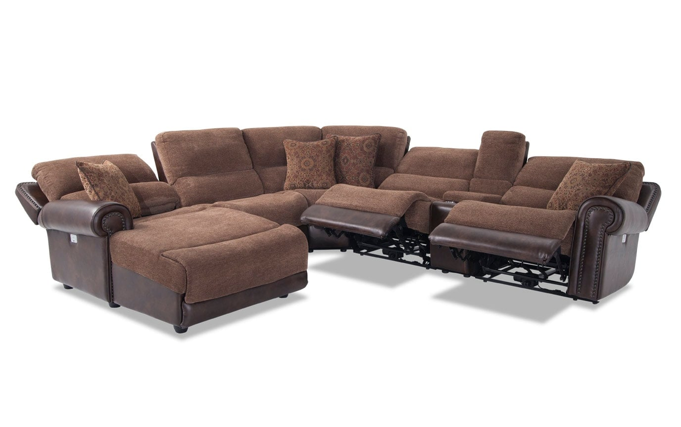 Dallas 6 Piece Right Arm Facing Sectional