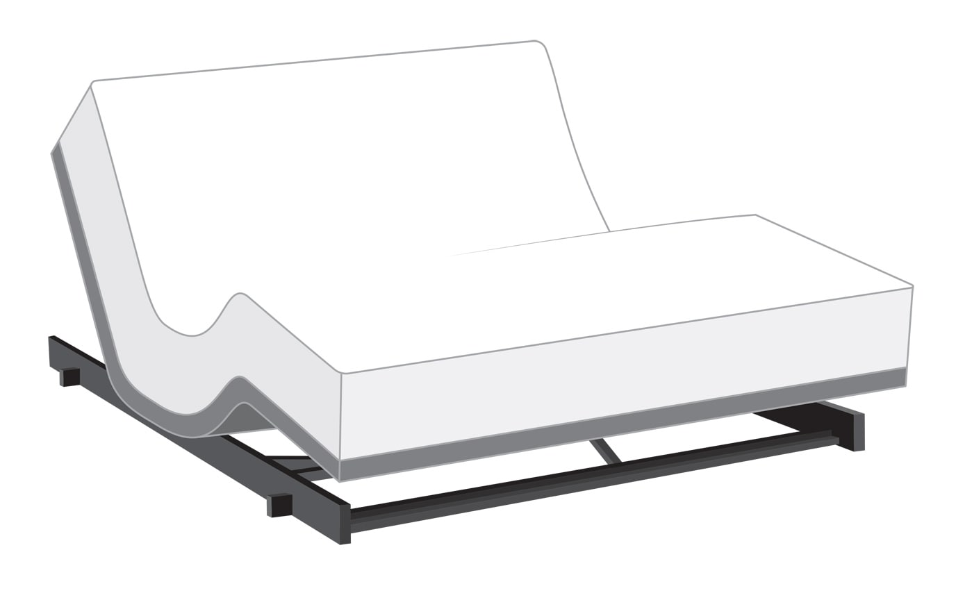 Power Bob Low Rider With Bob O Pedic Twilight Mattress