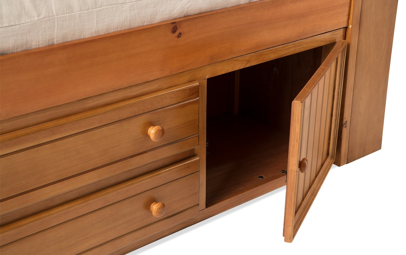 Denver Youth Full Bookcase Storage Bed