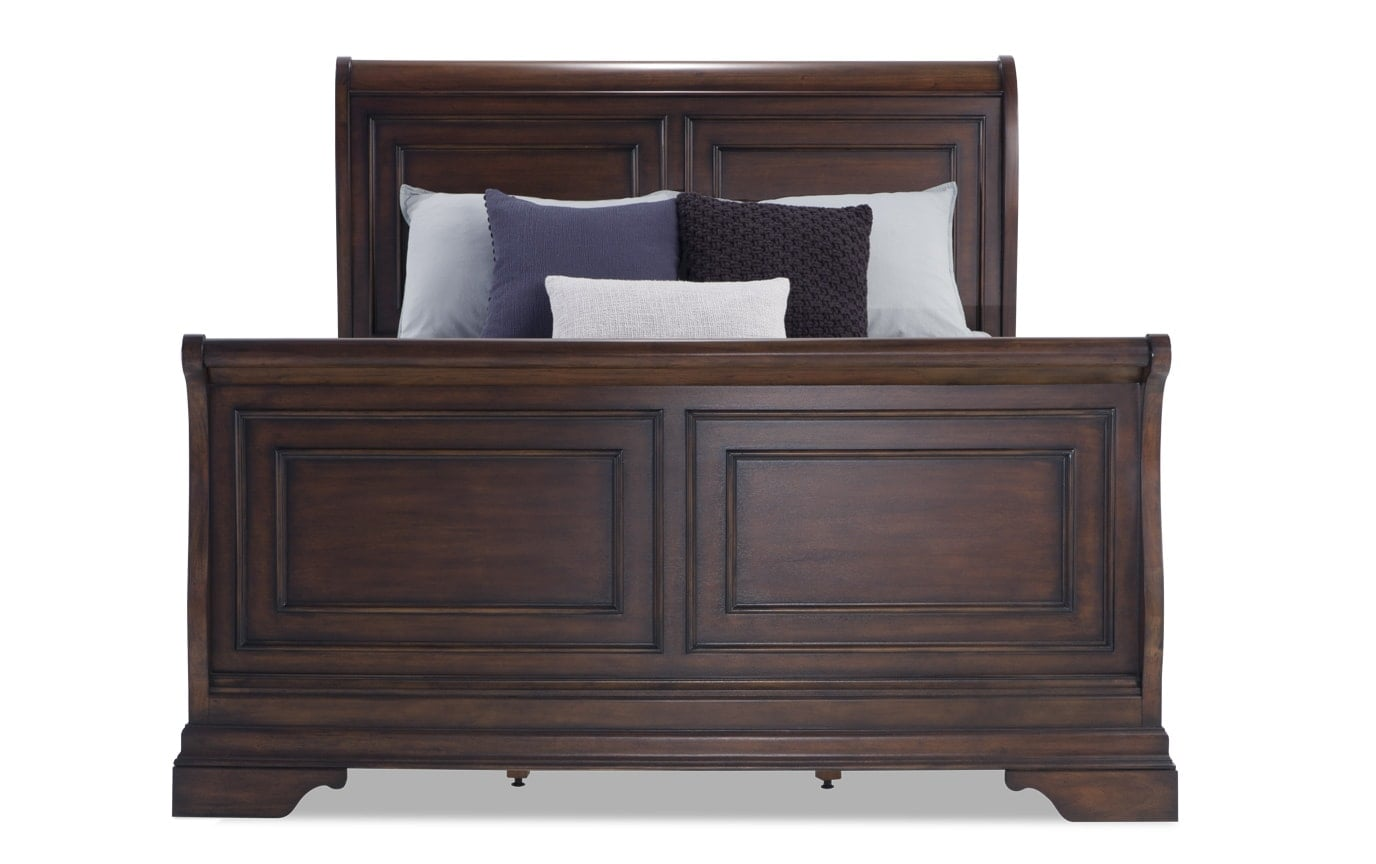 Louie Louie California King Cherry Bedroom Set