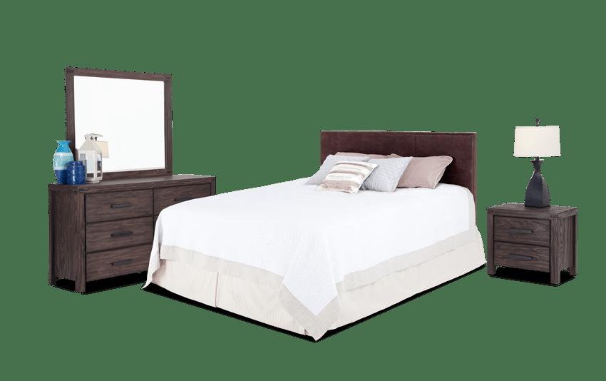 Austin Upholstered Bedroom Set
