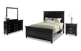 Spencer Full Black Bedroom Set