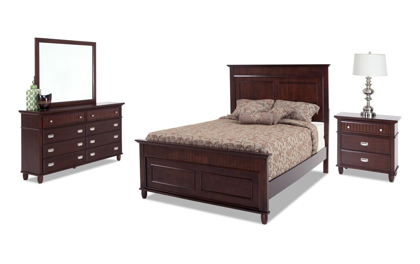 Spencer Twin Cherry Bedroom Set