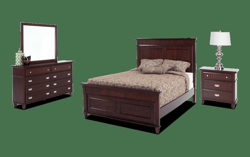 Spencer King Cherry Bedroom Set