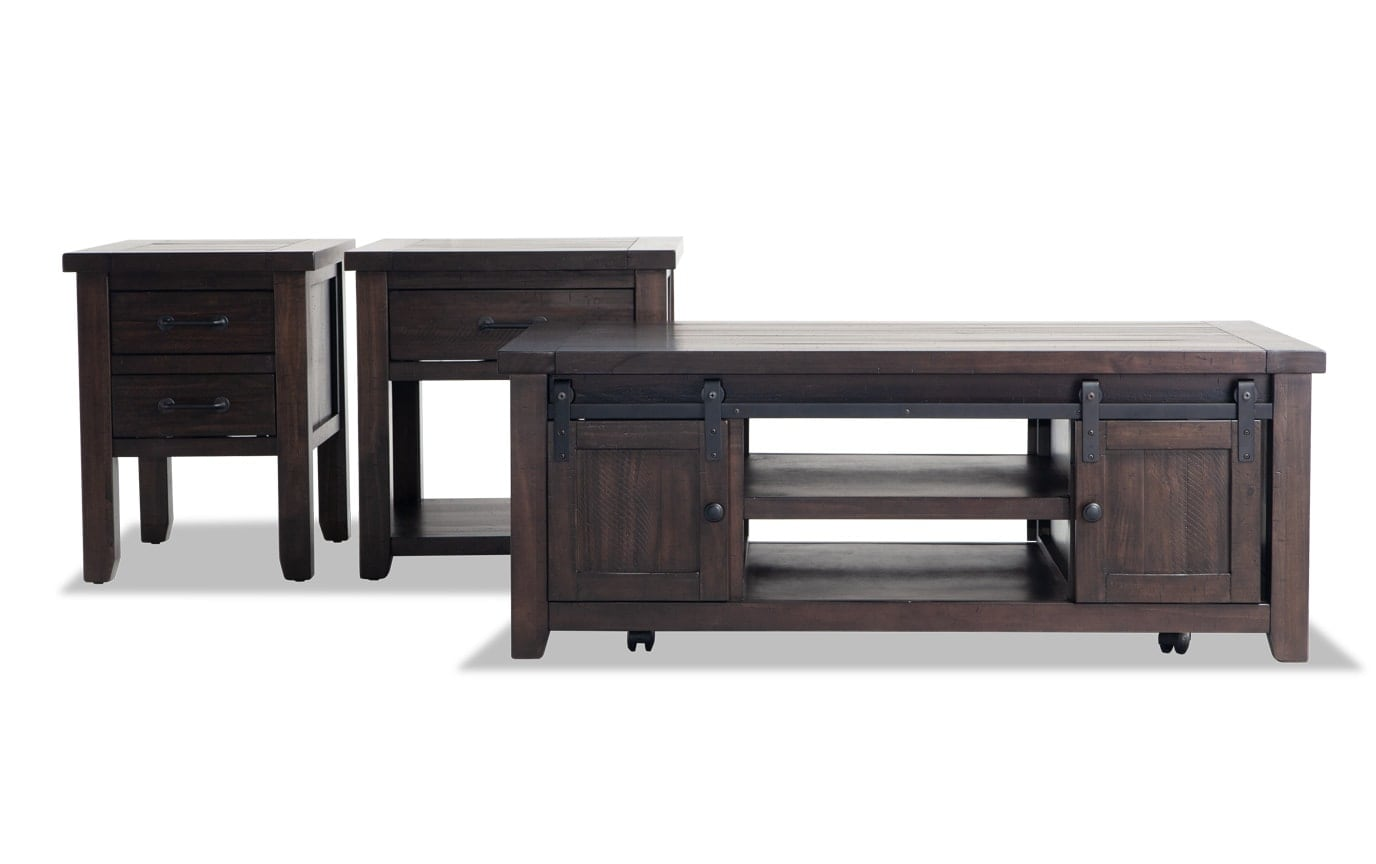 Montana 3 Piece Table Set