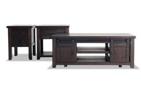Montana 3 Piece Table Set