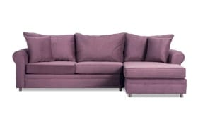 Emma Double Plum Left Arm Facing Sectional