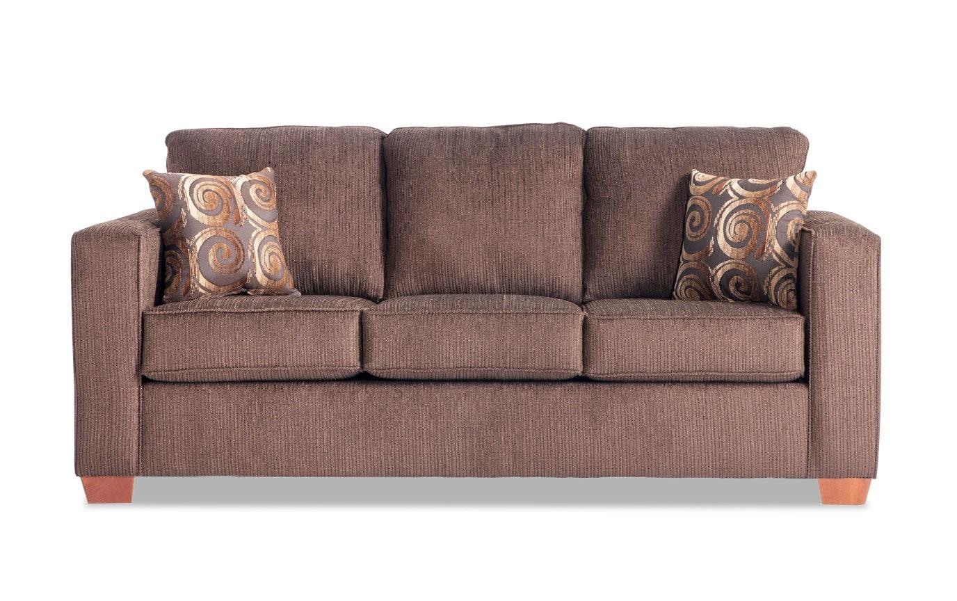 Aubree Brown Sofa