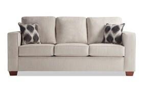 Aubree Taupe Sofa