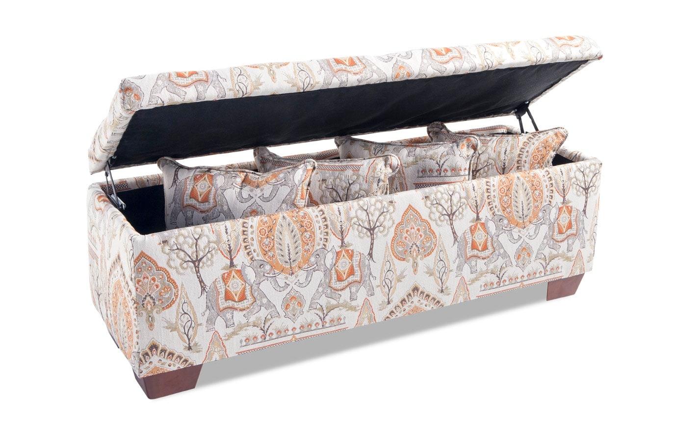 Anna Elephant Storage Bench