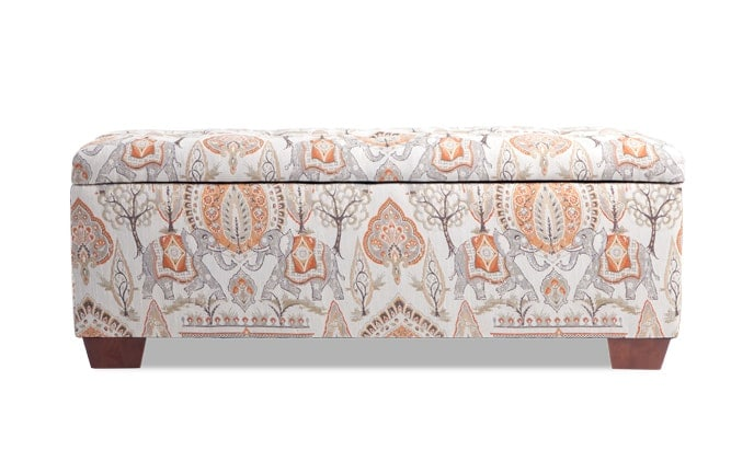 Anna Elephant Storage Bench