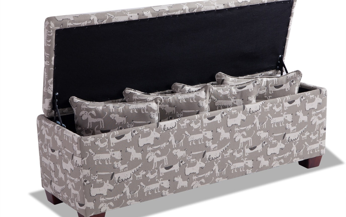 Anna Puppy Storage Bench