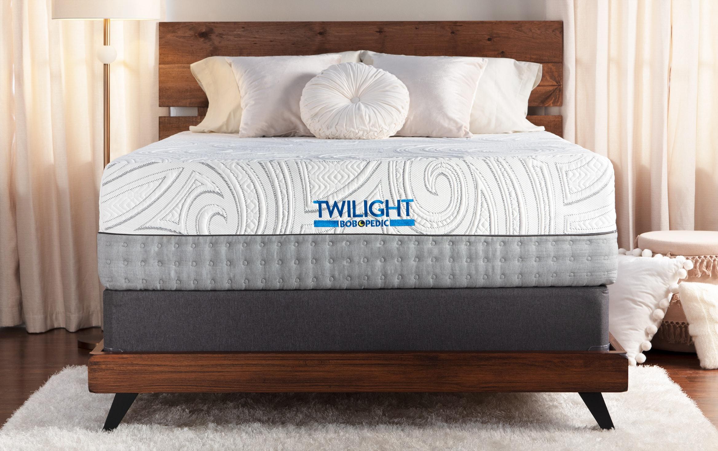 Bob O Pedic Twilight Twin Xl Firm Standard Mattress Set Bobs Com