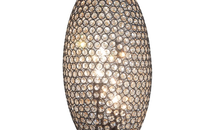 Gleam Crystal Bronze Orb Lamp