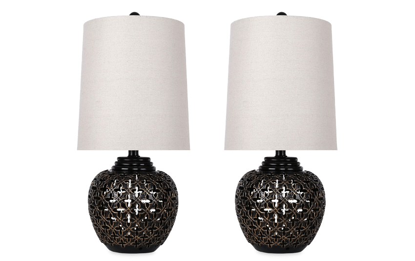 Set of 2 Empress Lamps
